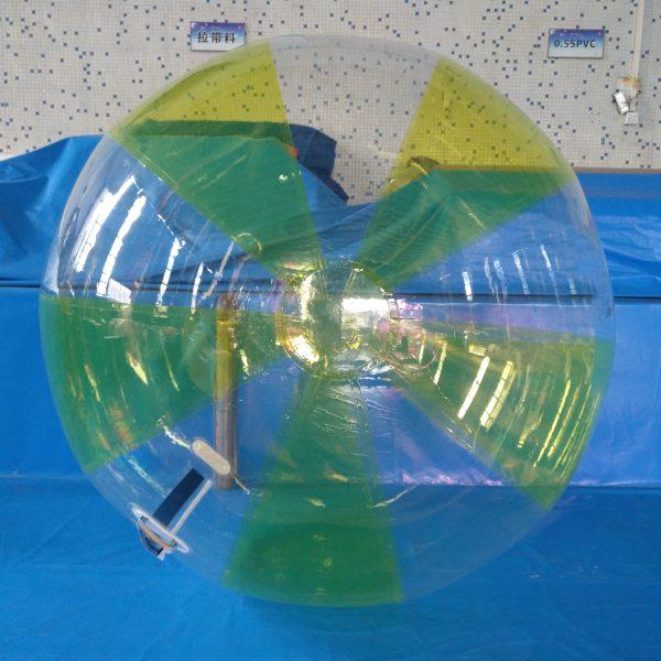 water walking ball transparent / yellow