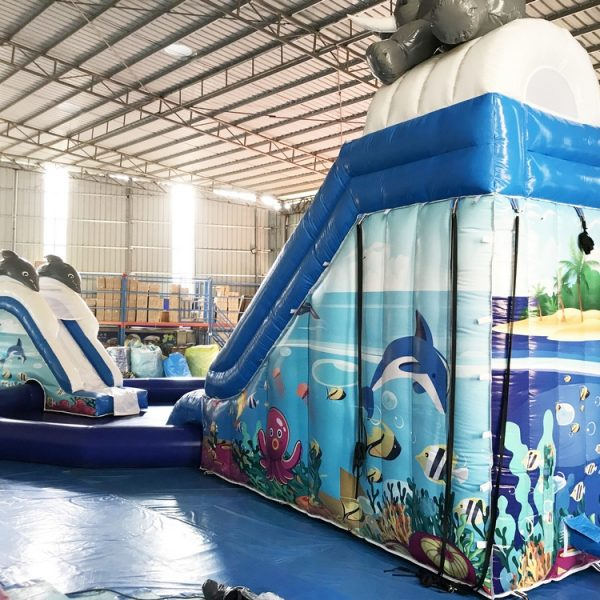 Aufblasbarer Acquapark / Wasserpark