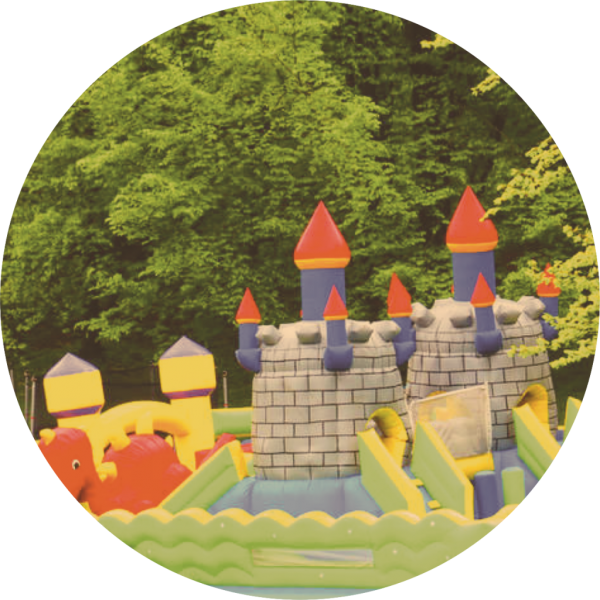 inflatable castle and bouncy house