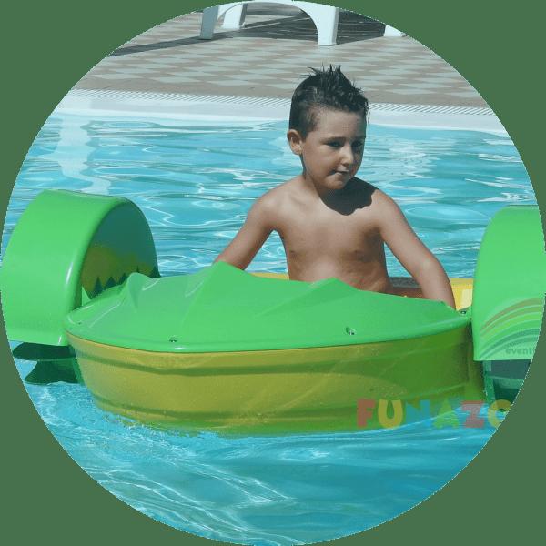 vendita barchette per piscine